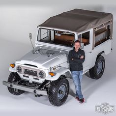 Our FJ Specialist 1974 Toyota LandCruiser FJ43 White. See related pics for this…