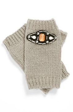 Tildon Jeweled Fingerless Gloves available at #Nordstrom