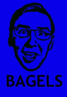 So i made a bagels poster for the Super Carlin Brothers poster contest and someone wanted one of Ben with the caption FISH… so i made it :)
