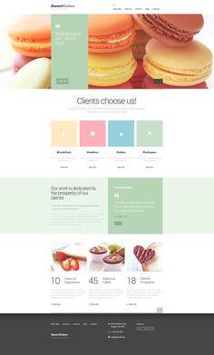 Website Design Strategies To Help You Succeed In Your Business Venture – Web Design Tips Website Design Inspiration, Website Design Layout, Blog Layout, Web Layout, Layout Design, Bakery Website, Food Website, Nice Website, Website Ideas