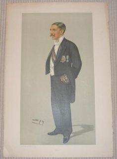 VF Original Vanity Fair Politican Hely Hutchinson 1898