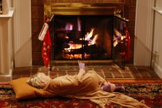 Get cozy in your PJs, a roaring fire and a great book make life perfect.