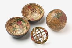 An 18th century Doppelmayr pocket globe.