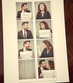 Invitation mariage originale avec photo