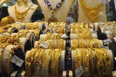 Passeando pela velha Dubai - Gold Souk