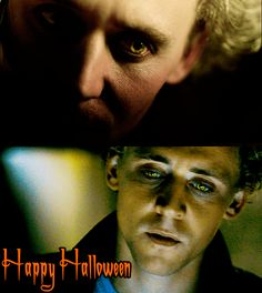 Halloween Magnus . (Gifs source: http://kirstquad.tumblr.com/post/26624570642/tom-hiddleston-vampire-eyes-a-thought-occurred ) #MagnusMartinsson #Halloween
