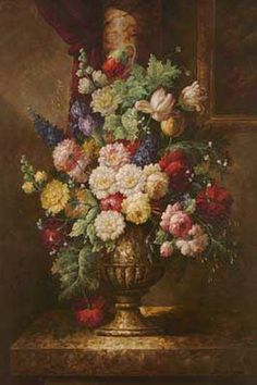 13 Best Renaissance Flowers Images In 2013 Floral Paintings