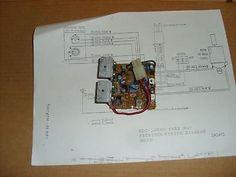 NIKKO RECEIVER CIRCUIT BOARD (RJ9032) WITH WIRING DIAGRAM