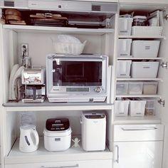 やっぱりSSS。/2014.6.8/収納/家電/整理収納部/IKEA…などのインテリア実例 - 2014-06-08 16:24:13 | RoomClip(ルームクリップ)