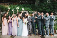 Boho Chic California Ranch Wedding on WeddingWire