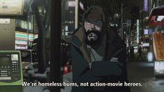 Tokyo Godfathers, Satoshi Kon, Hero Movie, The Godfather, Action Movies, Film, Anime, Sleeves, Movie
