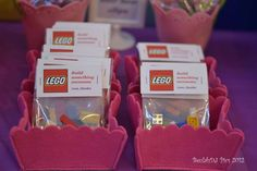 LEGO® Friends, Pink, Purple, Girl Birthday Party Ideas   Photo 24 of 40   Catch My Party