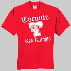 Red Knights 001 - 100% Cotton T Shirt