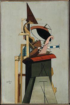 Giorgio de Chirico, The Jewish Angel, 1916