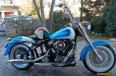 Harley Davidson Softail FLSTN Heritage Special - Nostalgia Deluxe CustomMANIA.com