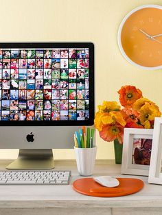 Organize Your Digital Photos. In the magazine article they go into more detail. Backing up to CD is obsolete if you don't use expensive archival cd's. External, and another form are the best way to go.
