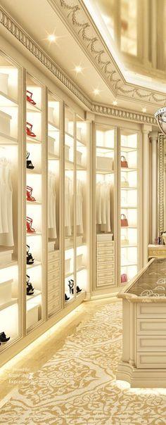 Luxury Dressing Room | Interior Design
