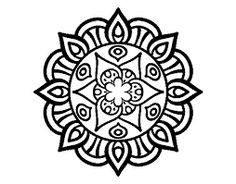 Mandala vegetal life coloring page Mandala Design, Mandala Pattern, Mosaic Patterns, Zentangle Patterns, Zentangles, Mandalas Painting, Mandalas Drawing, Dot Painting, Pattern Coloring Pages