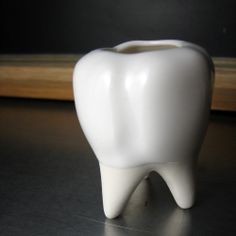 Tooth Vessel by BROOKLYNrehab on Etsy. $25.00, via Etsy.