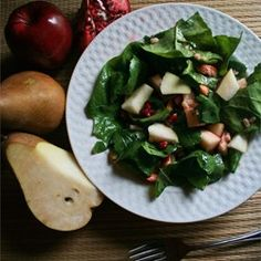 "Pear and Poegranate Salad | ""Loved the dressing. Light and flavorful."""