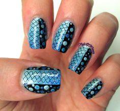 black and white nail salon decor - Google Search
