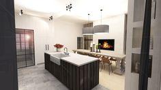 renovatie#interieur#keuken#barnwood#eik#leren barstoel#stalen deur#fornuis#Lacanche#Ghyselen Dewitte Architecten