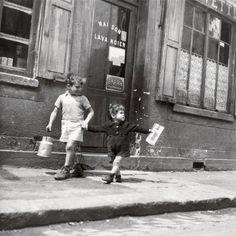 Rue Marcellin Berthelot, Choisy-le-Roi, 1945
