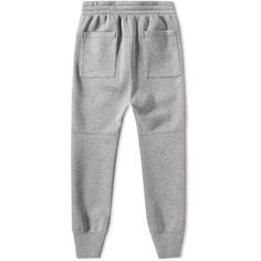 Helmut Lang Taped Jersey Sweat Pant ($355) ❤ liked on Polyvore featuring men's fashion, men's clothing, men's activewear and men's activewear pants