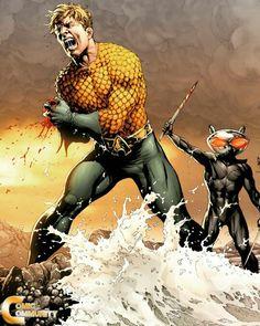Dc Comics. Aquaman loses a hand Aquaman Dc Comics, Arte Dc Comics, Arthur Curry, Atlantis, Star Trek, Dr Fate, Black Manta, Dc Comics Characters, Dc Movies
