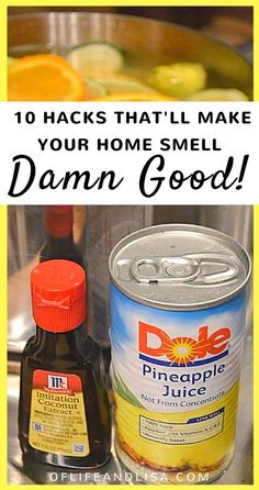 This post is AMAZING! I love how my house smells after trying the stove-top pot pourri plus the other tips are pretty awesome. I'll be trying those later this week! REPIN and SHARE with your friends and followers! #home #cleaningtips #cleaninghacks #lifehacks #mom #momlife #sahm #wahm #stayathomemom #stayathomewife #homemaker #homemaking #cleaningtricks #cleaning #spring #summer