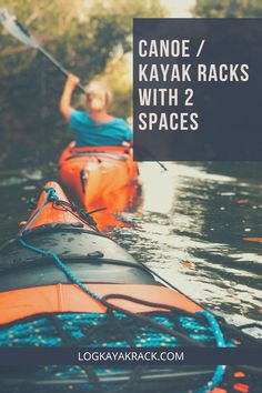 Log Kayak Rack hand crafts kayak/canoe storage racks that can help you keep your boat in great shape between ventures. Available in Wall-Mountable, Standard, Double-Low, and custom variations. #logkayakrack #kayak Canoe Storage, Storage Racks, Double Kayak, Kayak Rack, Hand Crafts, Canoe And Kayak, Open Water, Kayaking, Boat