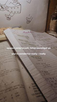 Bio Quotes, Story Quotes, Hurt Quotes, Tumblr Quotes, Instagram Story Ideas, Instagram Quotes, Self Reminder, Lettering Tutorial, Quotes Indonesia