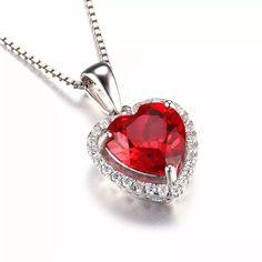 23baf6a2688 Pingente Ruby Com Zirconias Prata - R  97