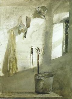 "A tribute to an American legacy,     N.C. and Andrew Wyeth        Andrew Wyeth   1917-2009                           ""I prefer winter and f..."
