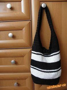 Háčkovaná taška / kabela