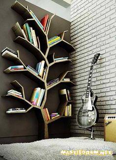 #Tree Inspired #Bookshelves #Imagination #House #Ideas #decor