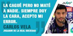 Carlos Vela #somosJUGOtv