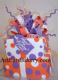 Clemson b-day cake
