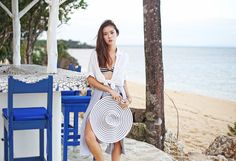 Beach Fashion at Mykonos, Balesin Summer Of Love, Summer Time, Camille Co, Swimsuits, Bikinis, Swimwear, Vogue Fashion, Mykonos, Festival Fashion