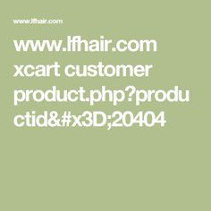 www.lfhair.com xcart customer product.php?productid=20404