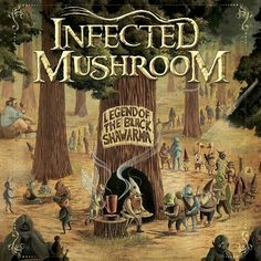 Infected Mushroom - Legend of the Black Shawarma. Another album I can listen to for hours on repeat.