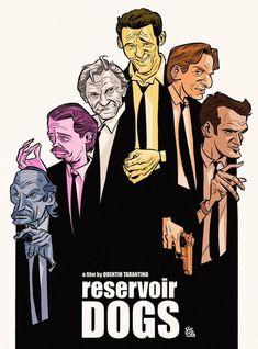 Reservoir Dogs (1992) [1000 x 1350]