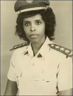 Asli Hassan Abade was the first and so far only female pilot in the Somali Air Force - 1970s
