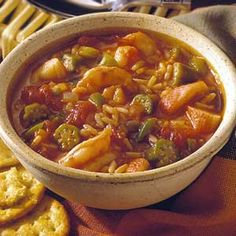 Simple Seafood gumbo - My All time favorite Seafood gumbo was from Crab Trap Restaurant in Destin, FL