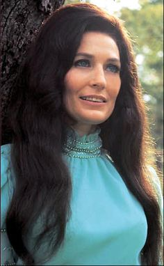 Loretta Lynn queen of country music: You ain't woman enough to take my man is my favorite song!