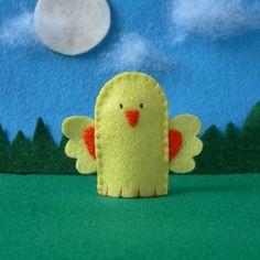 little chicken finger puppet