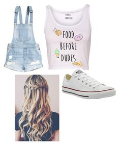It's a good outfit to go out by skylakilgore on Polyvore featuring polyvore, fashion, style and Converse