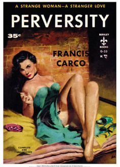 Vintage Pulp Fiction from the 1940's - 1950's