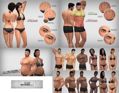 Drowned Out Skin Overlay by Xld Sims at SimsWorkshop