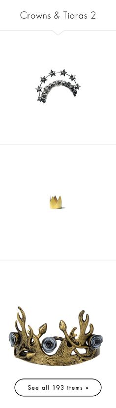 """""""Crowns & Tiaras 2"""" by morningstar1399 ❤ liked on Polyvore featuring fillers, accessories, hats, backgrounds, crowns, doodles, text, quotes, phrase and saying"""